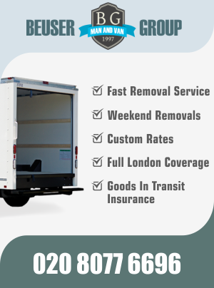 Professional man and van removal advantages